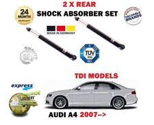 Per AUDI A4 2.0 2.7 3.0 TDI 2007-2015 2 X Posteriore Sinistra + Destra Ammortizzatore Set