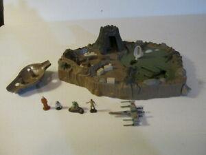 Star Wars ESB Micro Machines Yoda's Home Planet DAGOBAH Playset Galoob 1995