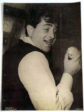 Rare Bollywood Actor Poster - Raj Kapoor - 12 inch X 16 inch