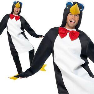 Natale Pinguino Costume Adulti Natale Natività Play Donna Uomo Costume Completo