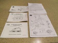 AristoCraft 2-4-2 Rogers Steam Locomotive Manual also Sound Tender Free Ship !