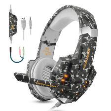 Cuffie Auricolare Gaming da Gioco Headset con Microfono per PC PS4 Xbox One NS