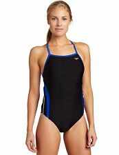 Speedo Women's Rapid Splice Xtra Life Lycra Energy Back Performance Swimsuit