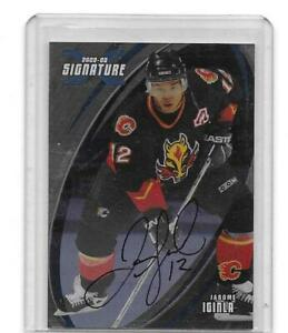 2002-03 BAP Signature Series Jarome Iginla Auto - Calgary Flames