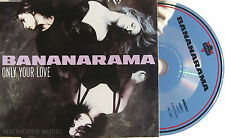 BANANARAMA CD Only Your Love 1990 4 Track  REMIXES Excellent