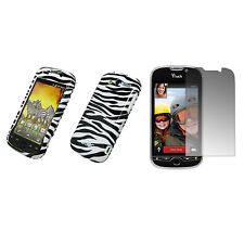 EMPIRE Zebra Design Hard Case Cover + Screen Protector for T-Mobile HTC myTouch