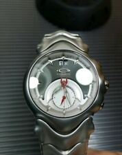 Oakley Judge black dial honed great condition timebomb jury mm hollowpoint NEGO