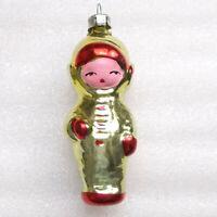 Antiker Russen Christbaumschmuck Glas Weihnachtsschmuck Astronaut Ornament