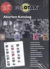 Philotax Abarten-Katalog Deutsches Reich 1872-1945 NEU