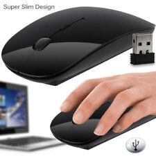 Desplazamiento óptico Mouse Inalámbrico 2.4GHz Inalámbrico para PC Laptop Computadora Con Usb