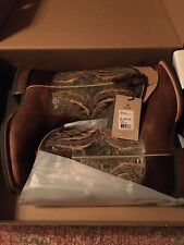Ariat® Men's Arena Rebound Dusted Toffee Crunch Wild Boots 10027160 Size 9.5 D
