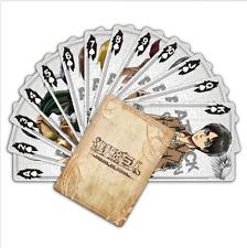 New Anime Attack on Titan Shingeki no Kyojin Playing Card Poker Cards