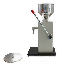 1- 50ML Cream Fill Machine Manual Paste Filling Machine Liquid Filling Machine