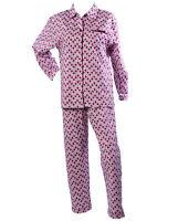 Mujer Lunares Pijama 100% Cotton Camiseta de Manga Larga & Pantalones con Topos