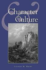 Studies in Social, Political, and Legal Philosophy: Character and Culture No....
