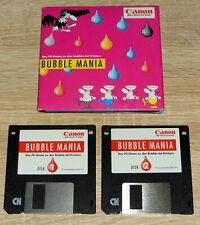 Canon - Bubble Mania (1995) PC-Werbespiel, MS-DOS, RARITÄT, gebraucht
