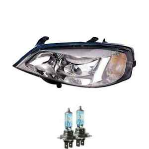 Headlight Right H7/H7 For Opel Astra G Notchback cc Caravan Incl. Lamps