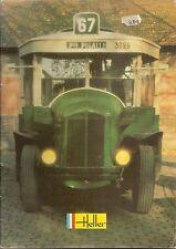 Catalogue vintage Heller 1982