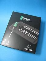 WERA KK 60 17 tlg. Kraftform Kompakt 60 Bit-Set mit Handhalter und Tasche