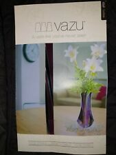 Vazu CoolSister Expandable Flower Vase Grey, Purple and Black