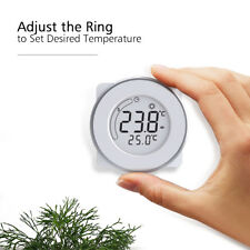 BYC18.GH3 Circular LCD Display Touch Screen Thermostat Electric Heating Control