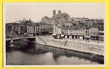 cpsm VERDUN (Meuse) PONT BEAUREPAIRE CATHÉDRALE Patisserie Confiserie BELLOT