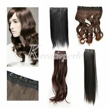 Schwarze glatte Perücken & Haarteile aus Echthaar-Kunst für Erwachsene