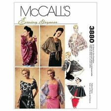 McCalls Sewing Patterns 3880 Misses Wraps Size XS-XL