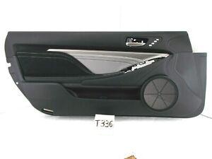 OEM DOOR TRIM PANEL LEFT DRIVER FRONT RC F 300 350 200t 16-18 STERLING GRAY NICE