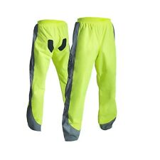RST PRO SERIES 1826 Waterproof Motorcycle/Golf Rain Over Trousers FLO YELLOW