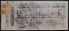 PERU bill of exchange 1871 on Henry Meiggs CA Francisco shipyard railroad lumber