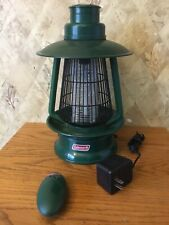 Coleman portable bug zapper, cordless, rechargeable With Remote