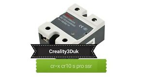 Creality CR-10S Pro CR-X Solid State Relay Heated Bed Mosfet Module DELIXI UK