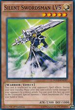 Silent Swordsman LV5 Common  Yugioh Card YGLD-ENC07