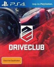 Driveclub PlayStation 4 Ps4 Australian Stock SCE