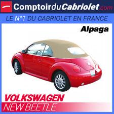 Capote Volkswagen New Beetle Cabriolet Elettrico - Alpaca Sonnenland A5 Crema