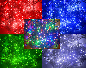 Led Christmas Fairy String Lights 100/200/300/400 Decoration Indoor & Outdoor