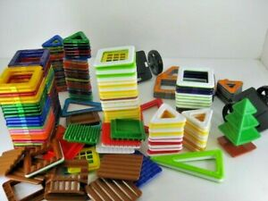 Big Lot Of Magformers Magnetic Building Toys 174 Pieces