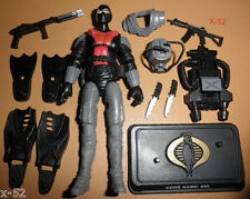 GIJOE gi joe COBRA frogman EEL eels FIGURE toy TROOPER (broken backpack)