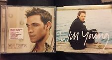 Will Young 2 X CD Bundle - From Now On (album) Leave Right Now (single) 03/02