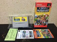 Super Mario Kart Super Famicom Japan NTSC-J Nintendo boxed set