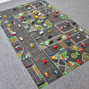 2021 Toy Baby Play Mat City Traffic Route Map Mat Carpet City Parking Lot New