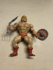 VINTAGE 1981 MASTERS OF THE UNIVERSE MOTU HE MAN  ACTION FIGURE   NR SOFT HEAD