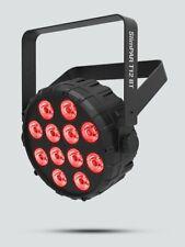 CHAUVET DJ STAGE WASH LIGHTING SLIMPAR T12 BT blue tooth technology 12 RGB LEDs