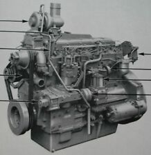 Perkins. 6.354. Diesel engine.workshop Manual. de 1967.