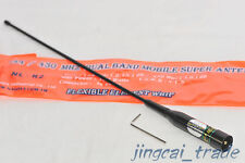 Original! NAGOYA NL-R2 DUAL BAND Mobile Antenna Flexible Whip PL259 of Car Radio