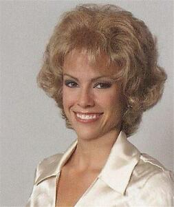 Short Brown/Blonde Curly Wig Wigs w/Soft Curls - Kimberly Wig