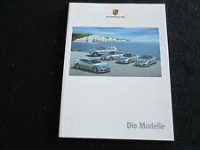 2009 Porsche GERMAN 94-pg Catalog 911 997 Turbo GT2 GT3 Cayman Boxster Brochure