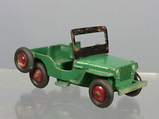 "DINKY TOYS  No.25Y "" UNIVERSAL""  JEEP  ""GREEN  / MAROON HUBS VERSION""     RARE"
