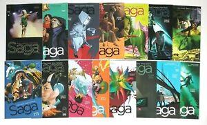 Saga #19-#33 Complete Run No Breaks Image Comics Lot